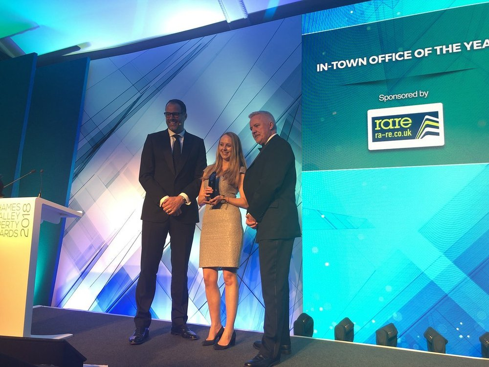 L&G's Apex wins 'In-Town Office of the Year' at the Thames Valley Property Awards