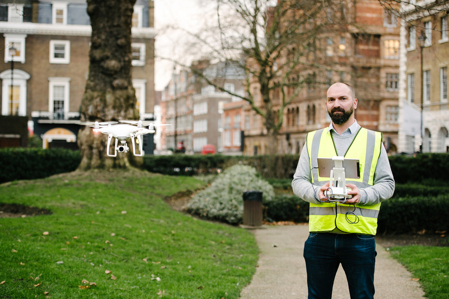 Paragon launches UK property industry's first in-house drone surveying service