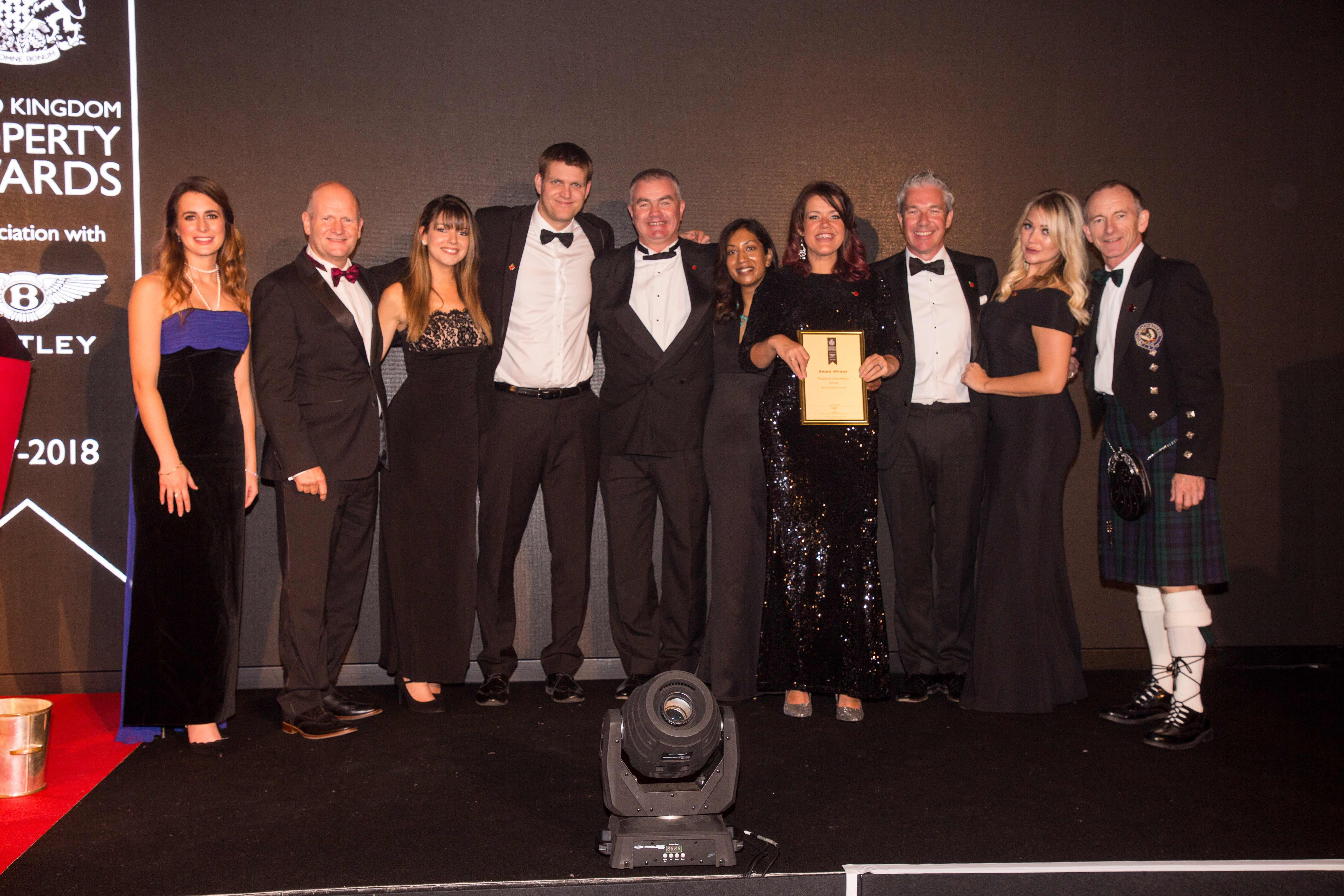 It's official - Bond Davidson is the Best Property Consultancy in Surrey