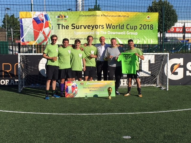 Paragon BC are the Surveyors World Cup Champions!
