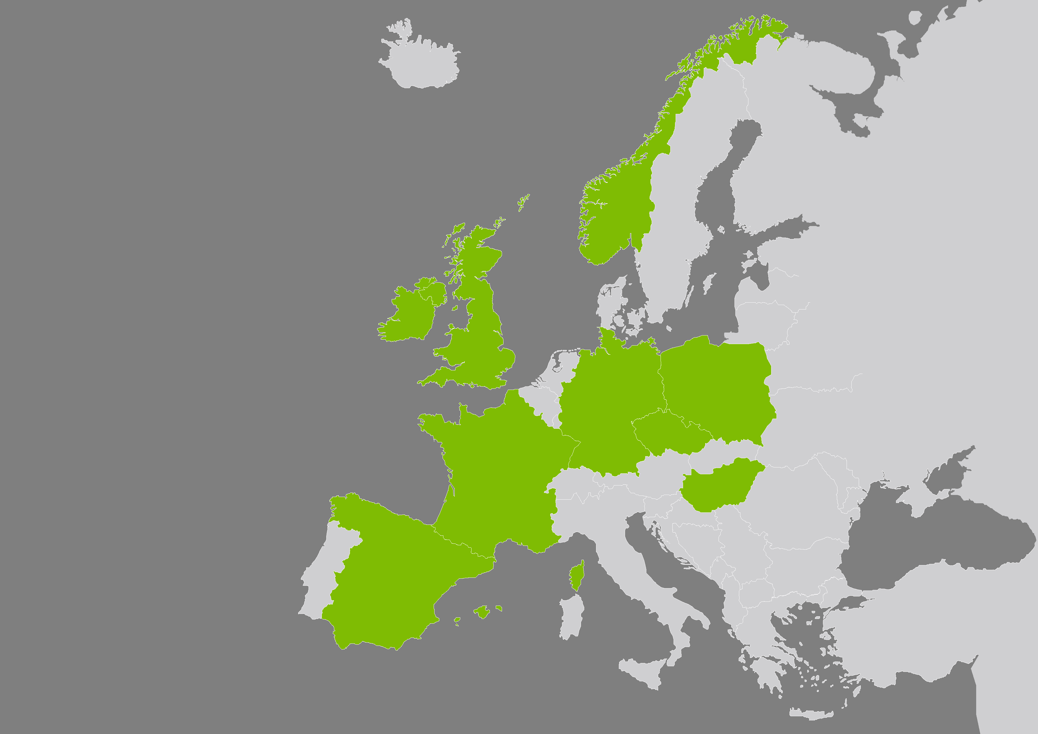 Paragon in Europe