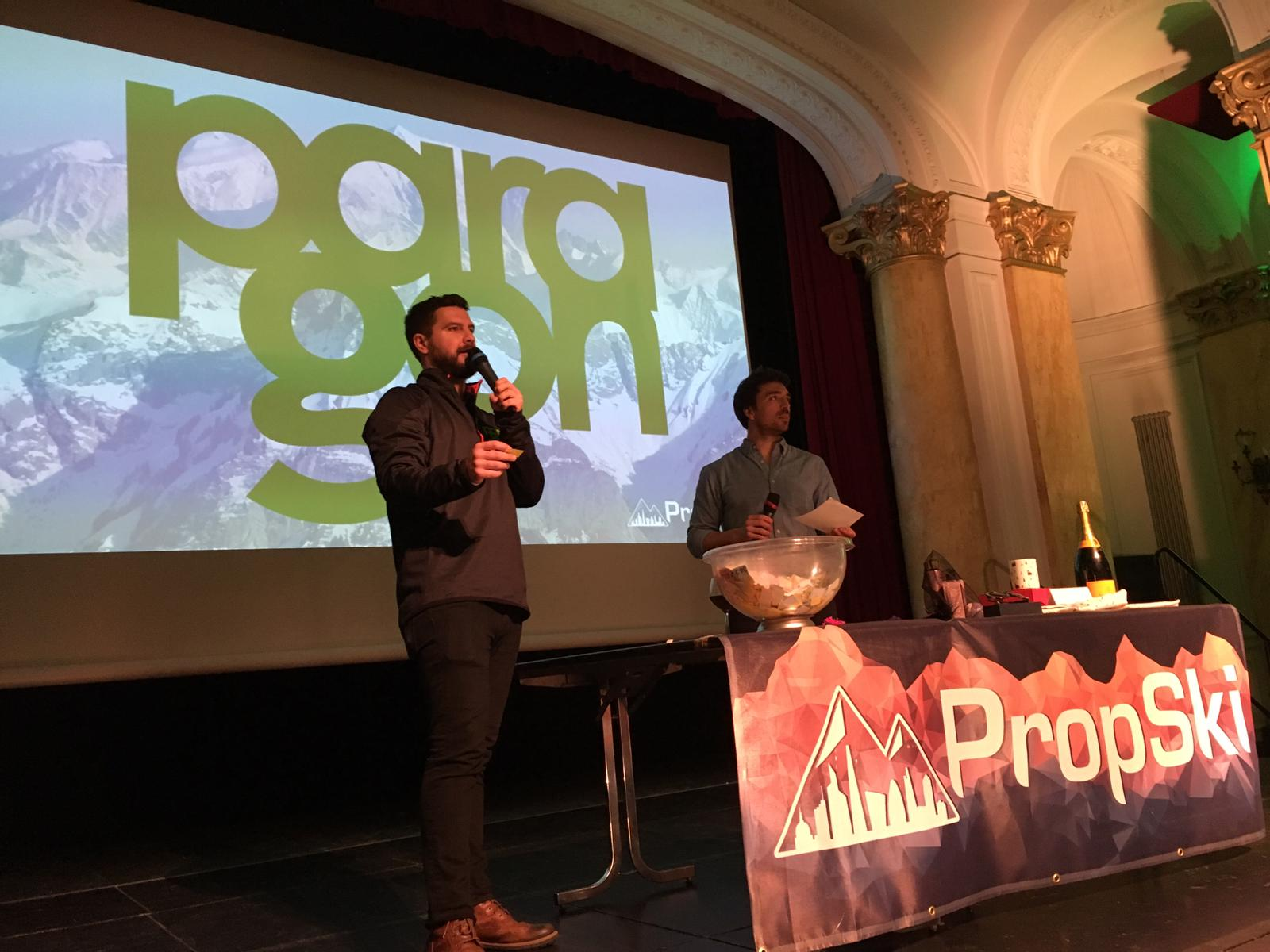 Paragon raises £20,000 for charity in the PropSki Mountain Meal