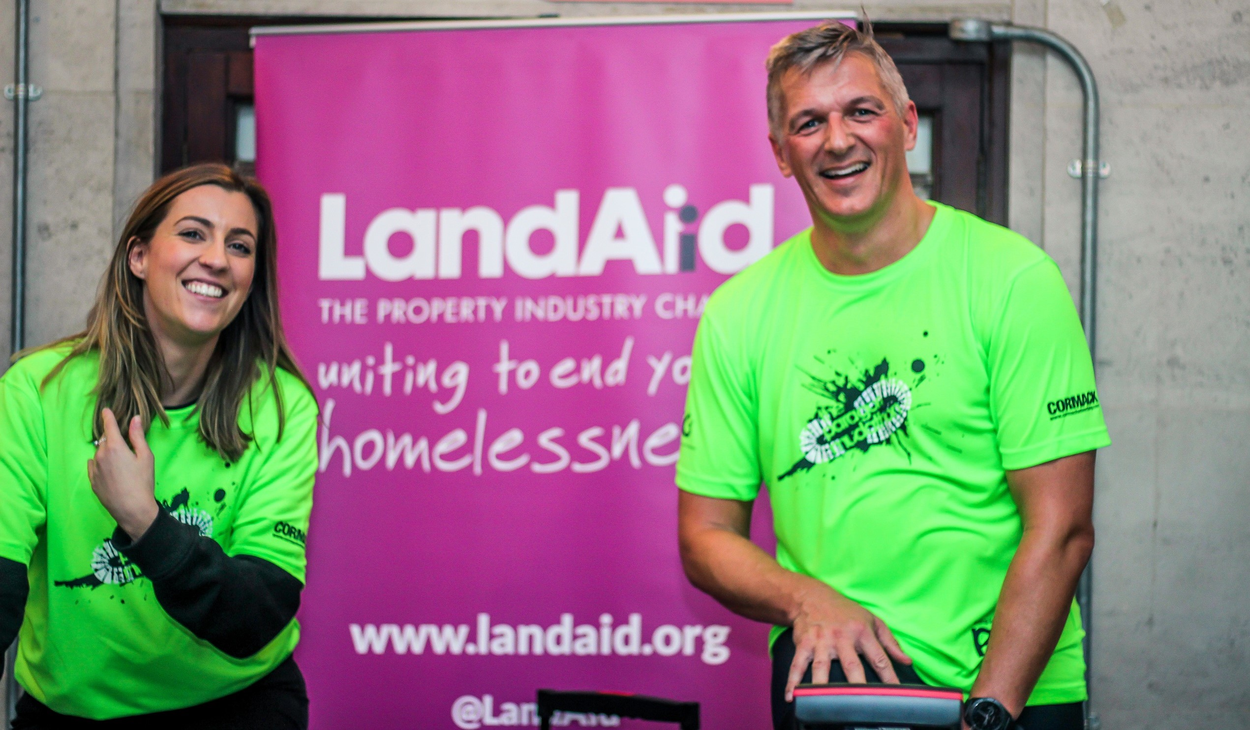 Paragon hits the road for LandAid in £40,000 fundraising drive