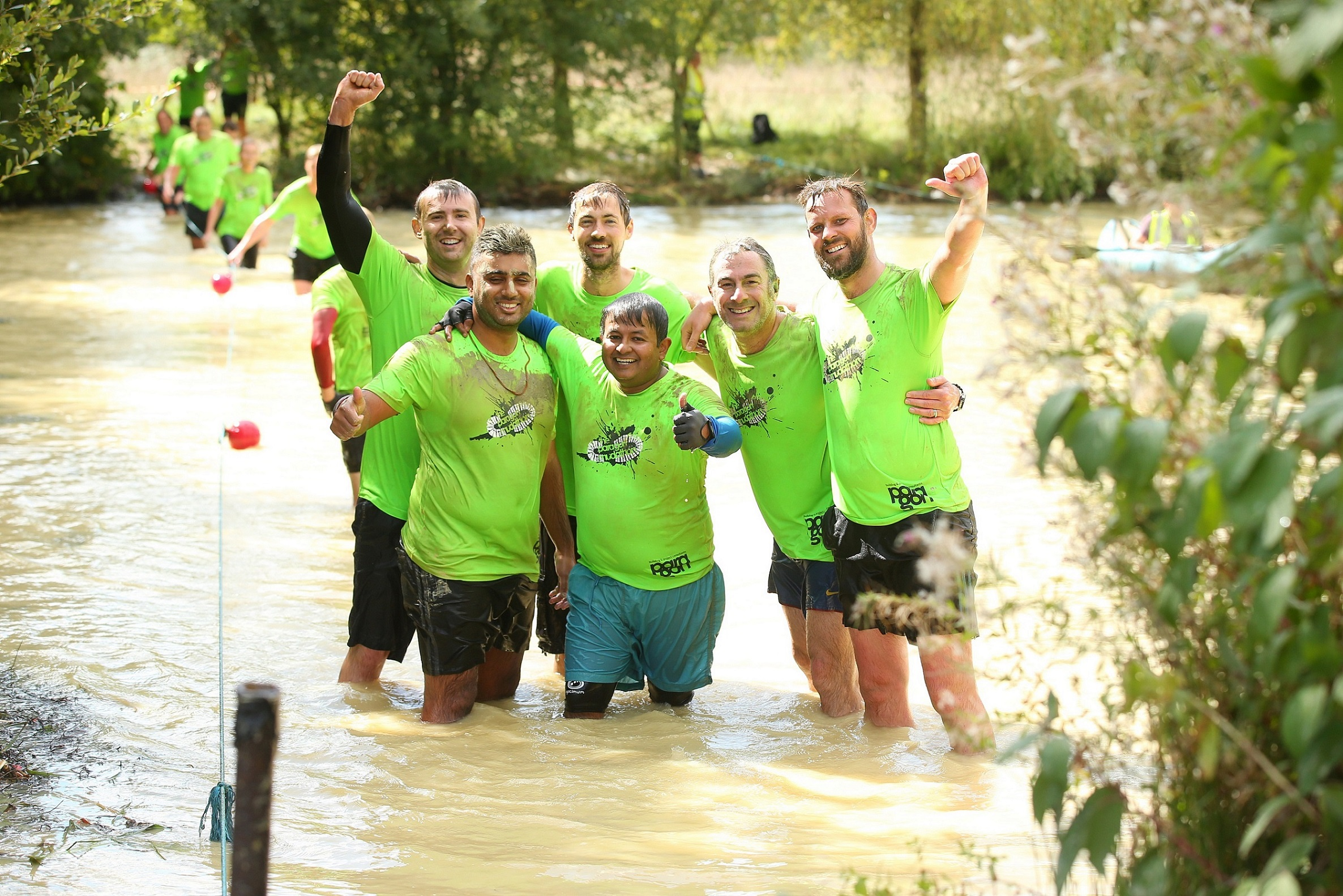 Paragon Mudathon raises £14,000 for LandAid and Macmillan with 331 property industry participants