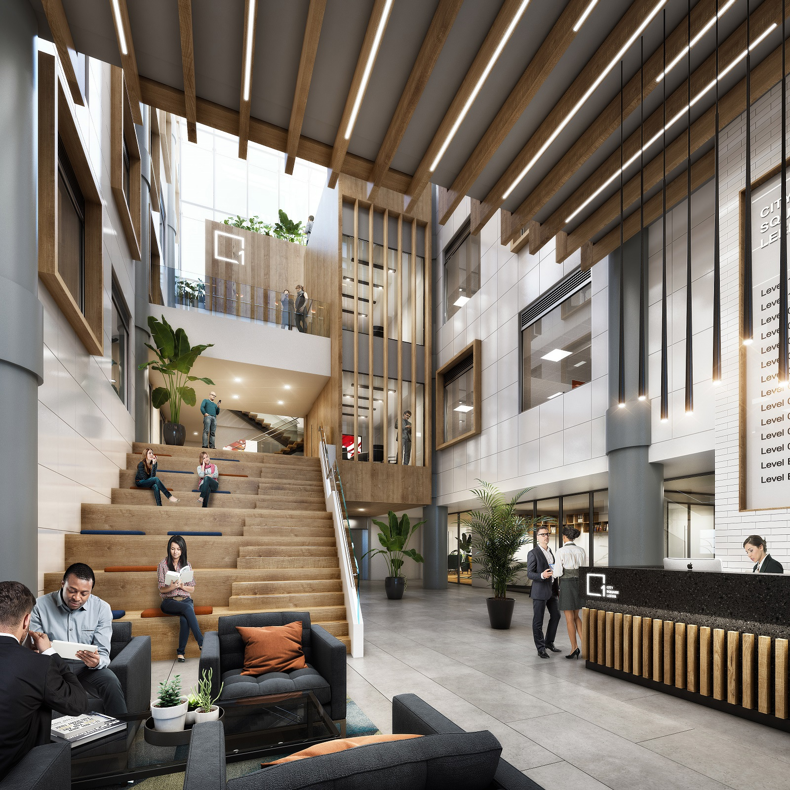 Paragon appointed by APAM on £7.5m refurbishment of 108,000 sq ft Leeds city centre office building