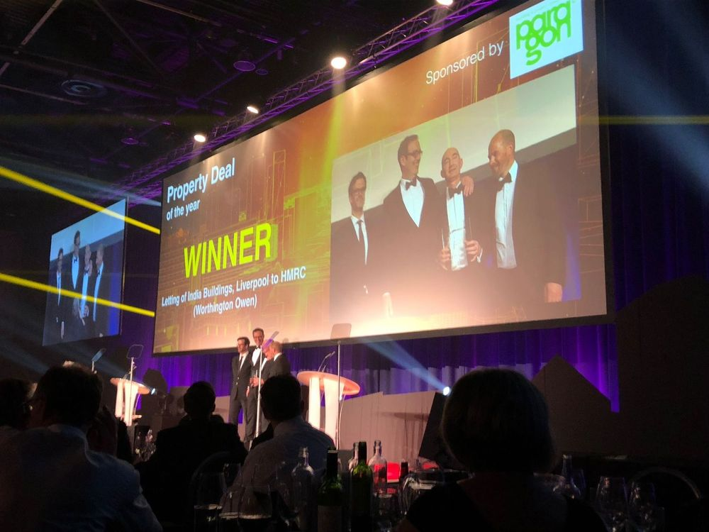 Paragon Sponsors Deal of the Year Award at the Insider Property Awards.